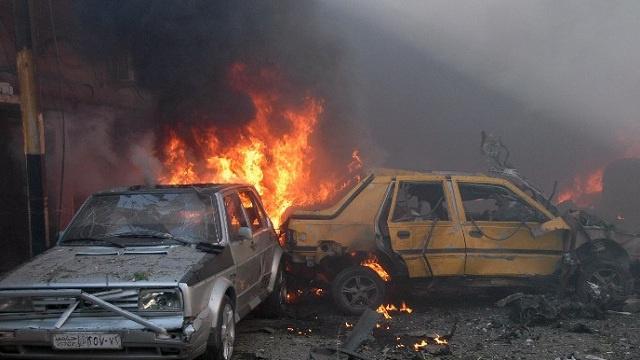 3 قتلى و17 جريحا في انفجار عبوة بسوق وسط دمشق