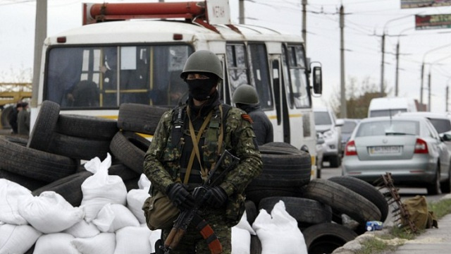 الشرطة الأوكرانية توقف عددا من حافلات مثيري الشغب في بولتافا