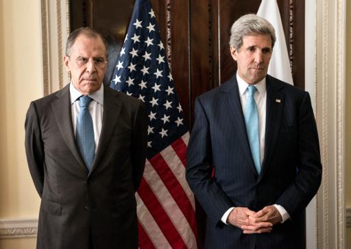 لافروف لكيري: استخدام كييف القوة ضد السكان في جنوب شرق اوكرانيا سيقوض اجتماع الرباعية