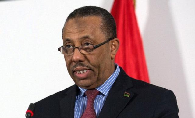 رئيس الحكومة الليبية المؤقتة عبد الله الثني يعتذر عن قبول تكليفه بتشكيل حكومة جديدة