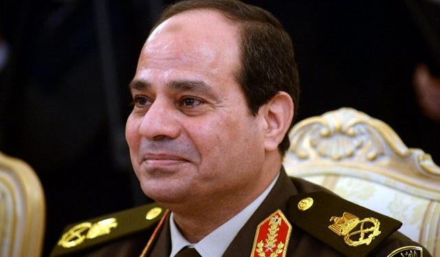 السيسي : لا يمكن لأحد أن يتحكم بمصير الشعب المصري