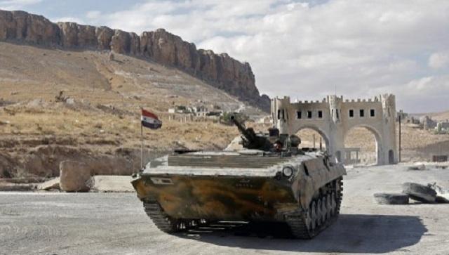 الجيش السوري يفرض سيطرته على معلولا بريف دمشق
