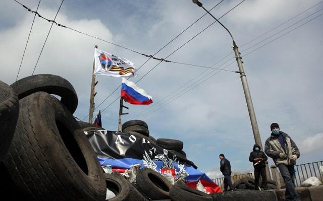 اشتباكات في مدينة غورلوفكا بشرق أوكرانيا