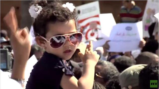 المئات يتظاهرون في المغرب للمطالبة بالمساواة بين النساء والرجال (فيديو)