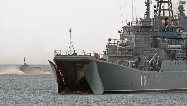 استبدال الورشة البحرية الروسية في ميناء طرطوس السوري