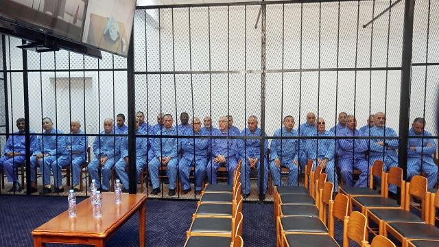 تأجيل محاكمة مسؤولين في نظام القذافي إلى 27 من الشهر الجاري