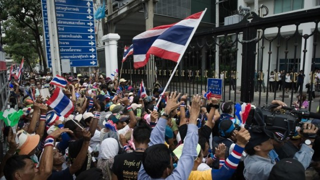 مقتل شخص في تبادل لإطلاق النار في بانكوك