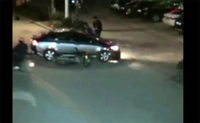 بالفيديو.. حادث مرور خطير في الصين