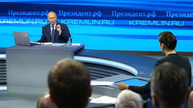 حوار بوتين مع الشعب سيجري يوم 17 أبريل