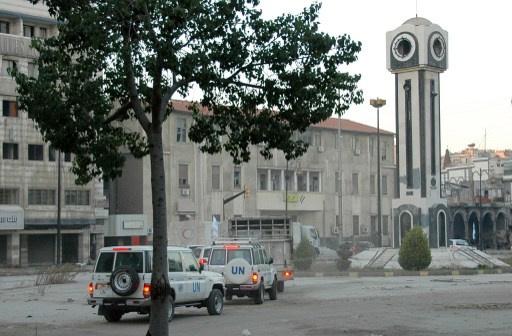 الجيش السوري يدخل أحياء حمص القديمة