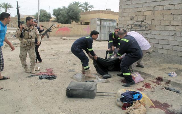 مقتل 5 أشخاص في هجوم انتحاري مزدوج في العراق