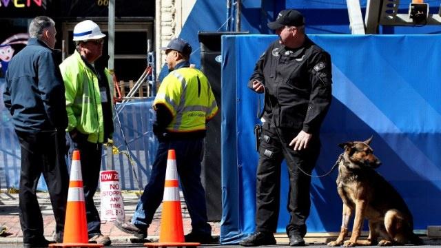 جرح 12 شخصا بانفجار في بوسطن