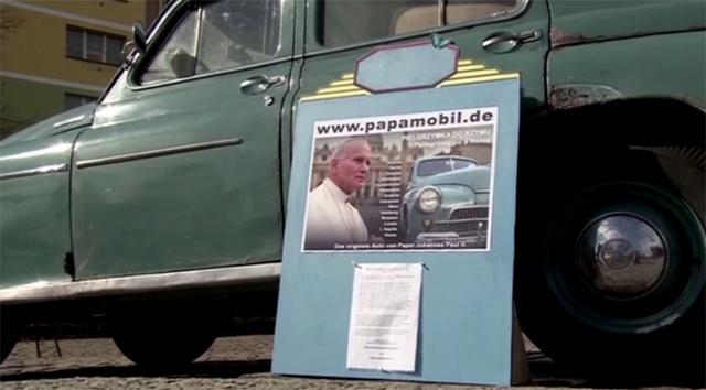 بالفيديو.. الى روما في سيارة البابا