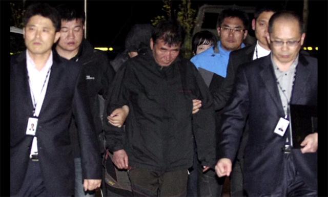 اعتقال قبطان العبارة الكورية