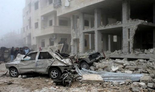 4 قتلى و9 جرحى بتفجير سيارة في سورية