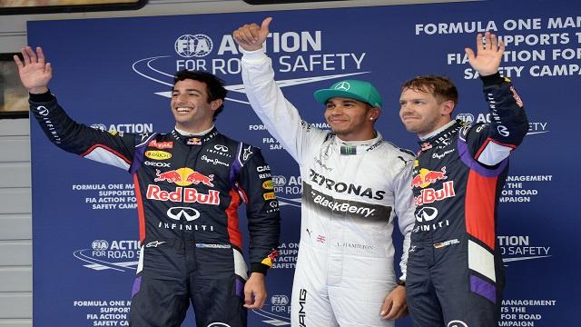 فورمولا1.. هاميلتون أول المنطلقين في جائزة شنغهاي
