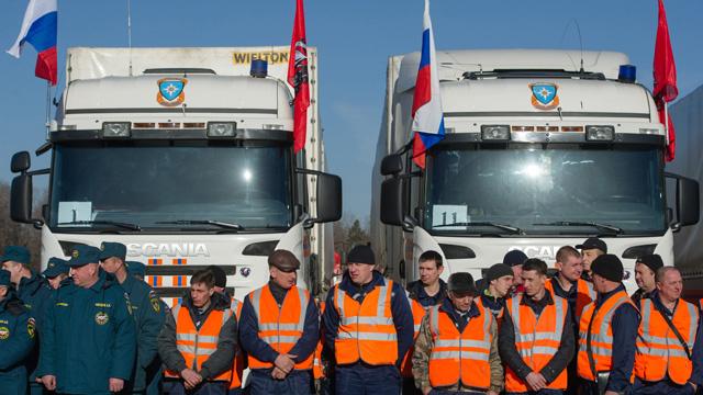 1,75 ألف طن مساعدات إنسانية قدمت روسيا للقرم خلال شهر