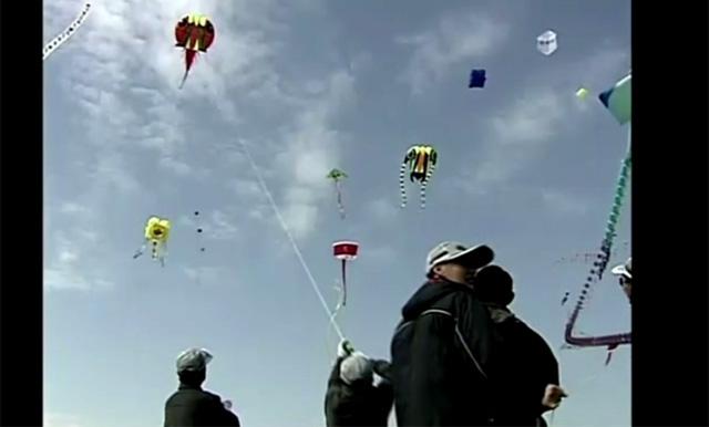 انطلاق فعاليات مهرجان الطائرات الورقية السنوي في مدينة وييفانغ الصينية (فيديو)