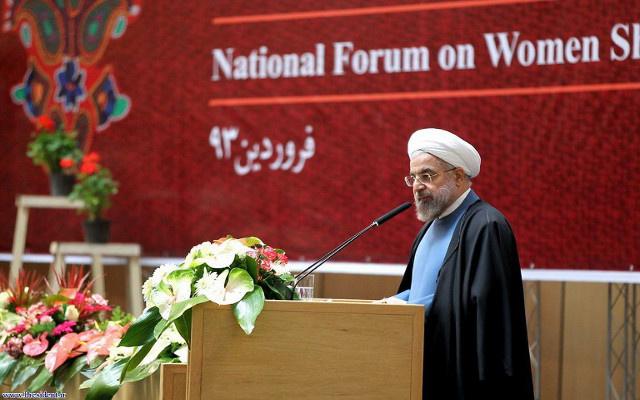 روحاني: النساء الإيرانيات لسن مواطنات من الدرجة الثانية
