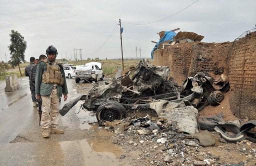 مقتل واصابة نحو 50 شخصا بتفجير سيارة مفخخة بمحافظة واسط العراقية