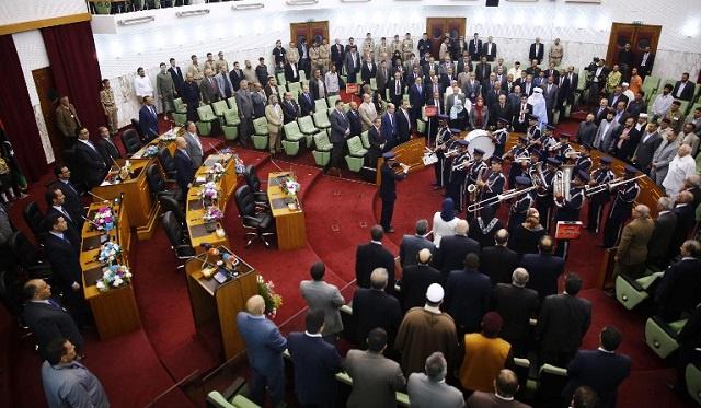 الهيئة التأسيسية لصياغة مشروع الدستور الليبي تنتخب رئيسا لها