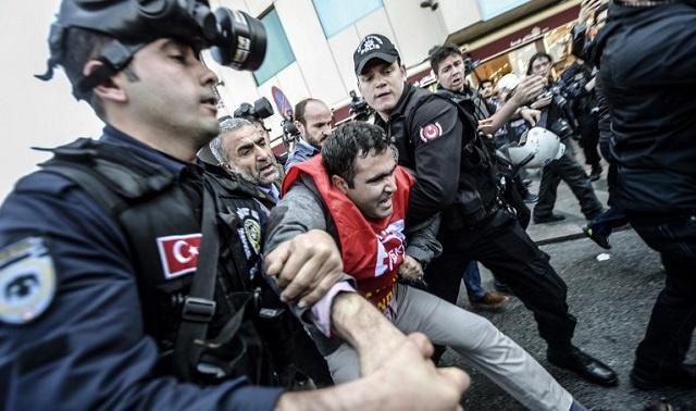 أردوغان يرفض دعوات المعارضة للاحتفال بعيد العمال في ميدان تقسيم
