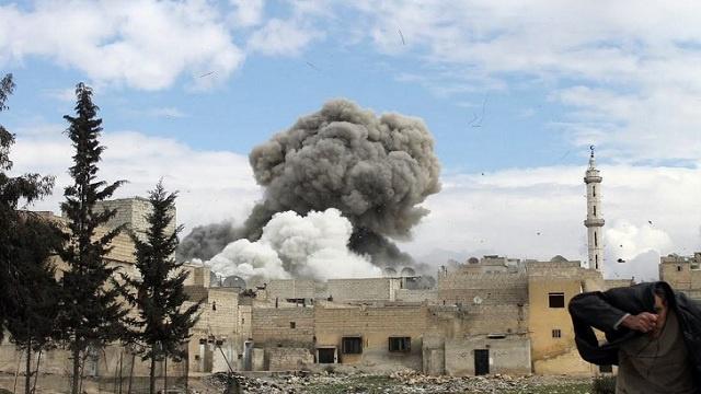 الولايات المتحدة تحقق في استخدام الكلور في كفرزيتا بسورية