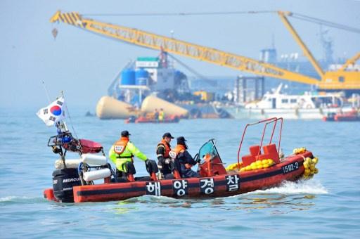 وصول عدد القتلى في حادث غرق العبارة الكورية الجنوبية الى 150 شخصا