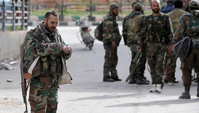 مقتل مسلحين بكمين للجيش السوري بريف دمشق