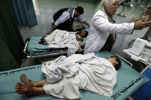 إصابة 7 فلسطينيين في غارة جوية إسرائيلية على غزة