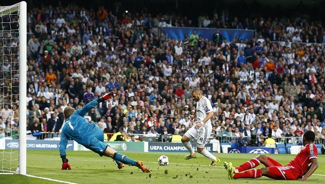 بالفيديو .. ريال مدريد يهزم بايرن ميونيخ بهدف بنزيما