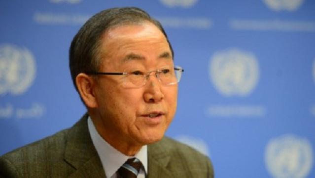 بان كي مون يدعو أطراف النزاع في سورية الى تسهيل إيصال المساعدات الإنسانية