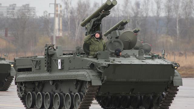 منظومة روسية حديثة مضادة للدبابات
