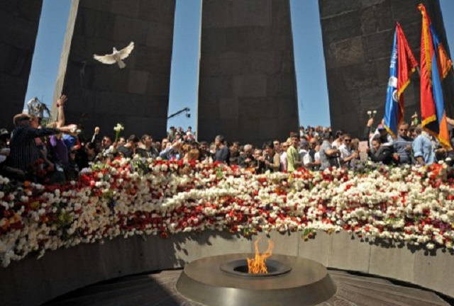 في الذكرى 99 لإبادة الأرمن.. أردوغان يعزي احفادهم وسارغسيان ينتقد سياسة تركيا