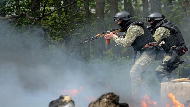 بيسكوف: تصرفات سلطات كييف الجديدة شرق البلاد لا تمنحها الشرعية