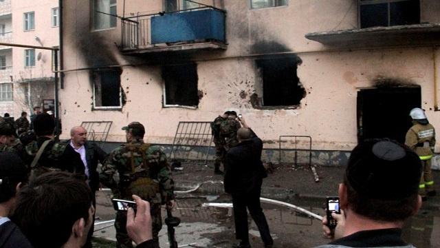 اللجنة الوطنية الروسية لمكافحة الإرهاب: تصفية مسلحين في خسافيورت بجنوب روسيا