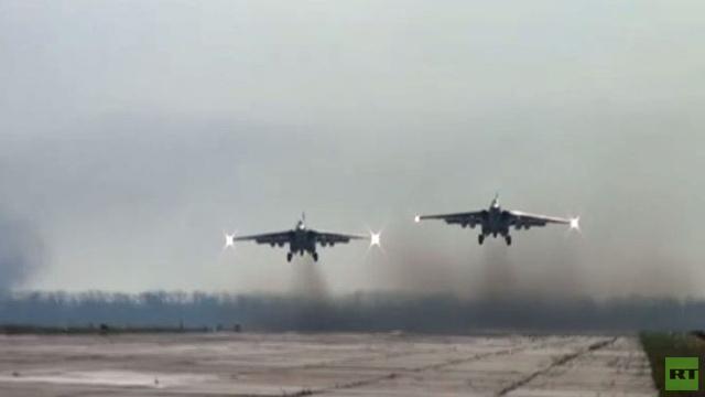 بالفيديو..طيارو المنطقة العسكرية الجنوبية يستعرضون مهاراتهم