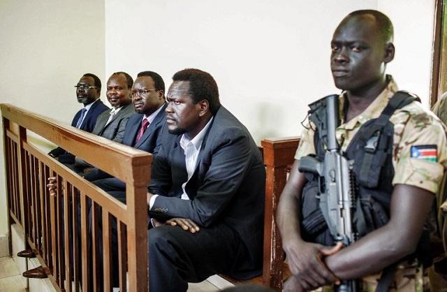 جوبا تطلق سراح 4 متهمين بمحاولة انقلاب