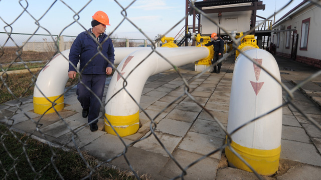 بوتين وميركل يؤكدان ضرورة الإسراع بعقد مباحثات حول أزمة الغاز الأوكرانية