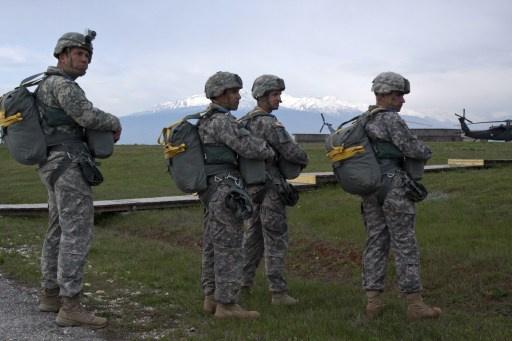 وصول 150 عنصرا من الجيش الأمريكي إلى لاتفيا