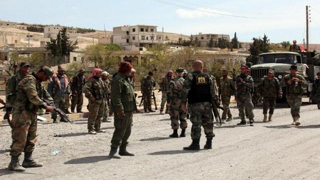 مراسلنا: مسلحون يفجرون مجمعا تجاريا في أطراف دمشق