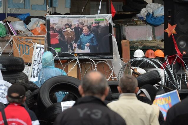 رؤساء تحرير القنوات الروسية يطالبون المنظمات الدولية بحماية حقوق الصحفيين الروس في أوكرانيا