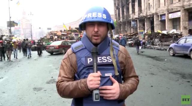 بعض الوقائع عن انتهاك حقوق الصحفيين الروس في أوكرانيا