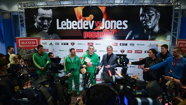 مفاجأة .. إلغاء النزال الثأري بين الملاكم الروسي ليبيديف وغريمه البنمي جونس في اللحظة الأخيرة