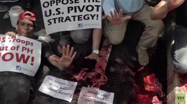 بالفيديو: مظاهرات