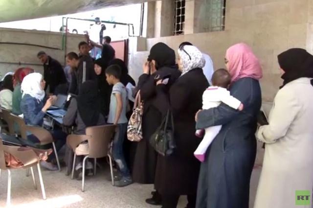 وصول مساعدات إنسانية لسكان مدينة حلب