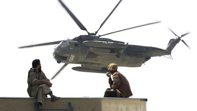 مقتل 5 من جنود الناتو في حادث تحطم مروحية جنوب أفغانستان