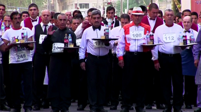 بالفيديو.. مسابقة الندل السنوية في الأرجنتين