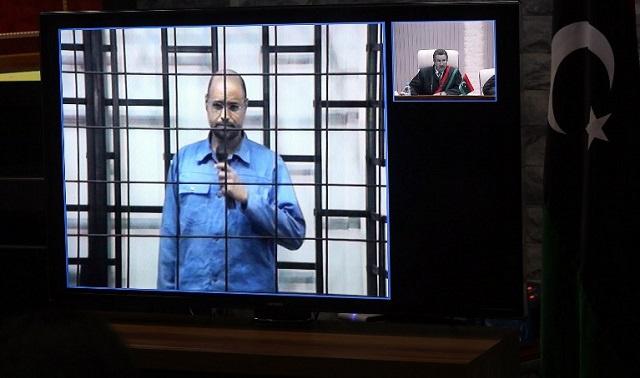 استئناف محاكمة سيف الإسلام القذافي و 36 متهما آخر من رموز النظام الليبي السابق