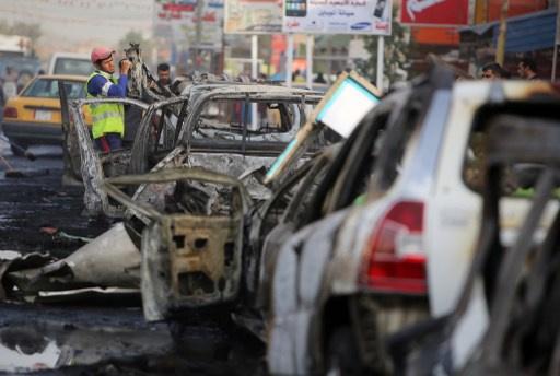 مقتل واصابة 27 عراقيا بتفجير سيارة مفخخة شرق بغداد (فيديو)